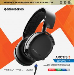 Tai nghe SteelSeries Arctis 3 Bluetooth (61485)