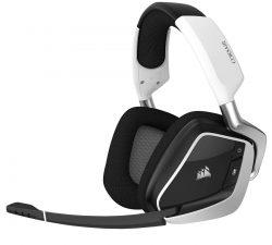Tai nghe Corsair VOID PRO RGB Wireless White (không dây) (CA-9011153-AP)