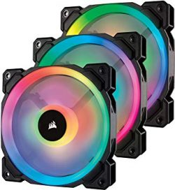 Quạt Case Corsair LL120 RGB Triple Pack + Lighting (CO-9050072-WW)