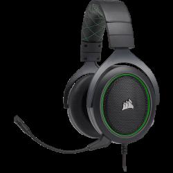 Tai nghe Corsair HS50 Stereo Green (CA-9011171-AP)