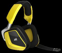 Tai nghe Corsair VOID V2 RGB Wireless SE Yellow (không dây) (CA-9011150-AP)