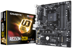 Mainboard Gigabyte AB350M-DS3H