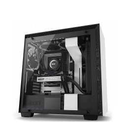 NZXT H700i SMART ATX CASE ( MATTE BLACK/ WHITE/ RED )