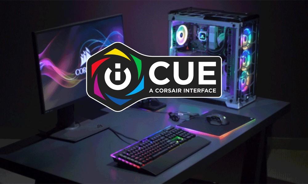 Phần mềm CORSAIR iCUE mang lại khả năng kiểm soát và tùy biến linh kiện