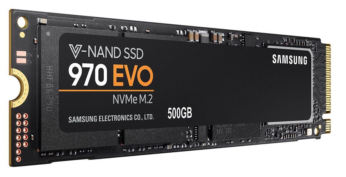 Ổ cứng SSD Samsung 970 EVO 500GB NVMe M.2 (Mz-V7E500BW)