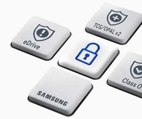 SSD Samsung 860 EVO AES 256 Encryption