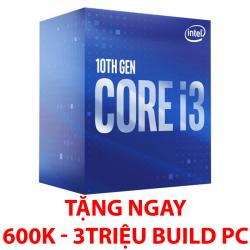 Intel Core i3-10100 (3.6 up to 4.3Ghz/ 4 nhân 8 luồng/ sk 1200)