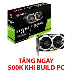 MSI GTX 1650 VENTUS XS OC 4GB GDDR6