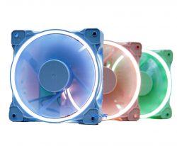 FAN CASE ID-COOLING ZF-12025 Pastel (Green/Pink/Blue)