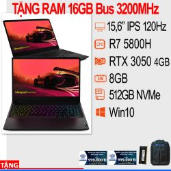 Laptop Lenovo IdeaPad Gaming 3 15ACH6 82K2008VVN